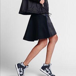 Nikelab x Sacai wool skirt